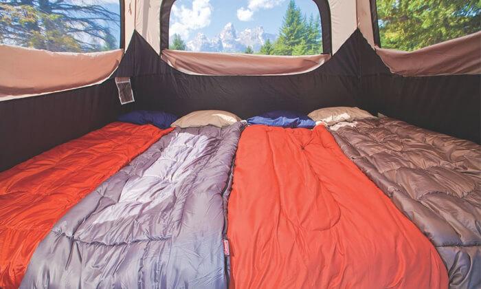 4 אוהל ל-6 אנשים Coleman
