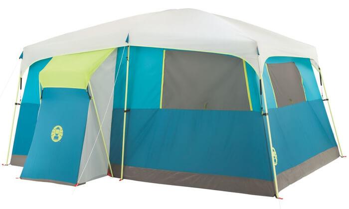2 אוהל משפחתי ל-8 אנשים Coleman