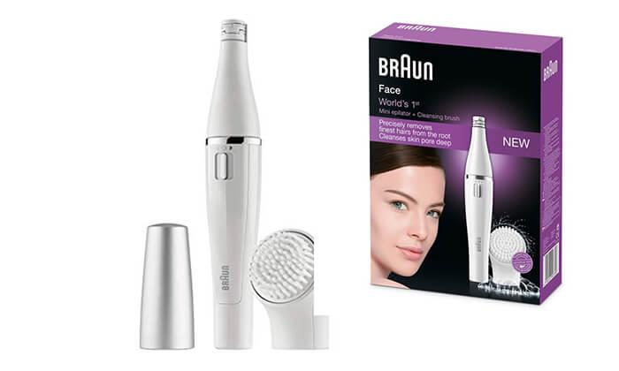 2 מכשיר להסרת שיער פנים BRAUN FACE