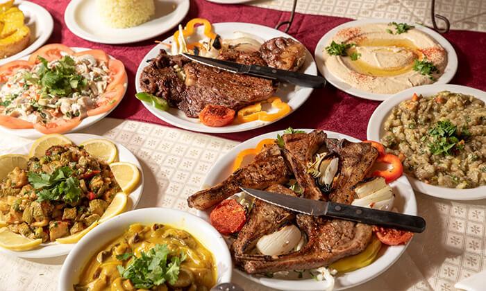 7 ארוחת בשרים זוגית במסעדת ביירות, ראשון לציון