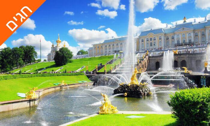 4 מוסקבה וסנט פטרסבורג - טיול מאורגן 8 ימים, כולל חגים