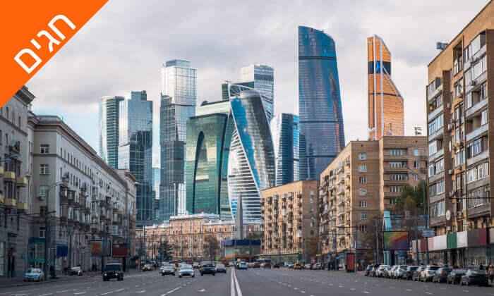 7 מוסקבה וסנט פטרסבורג - טיול מאורגן 8 ימים, כולל חגים