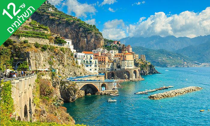 3 חבל קמפניה ודרום איטליה - טיול מאורגן 8 ימים