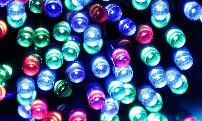 3 סט 7 שרשראות תאורה סולארית באורך 4.5 או 7 מטר