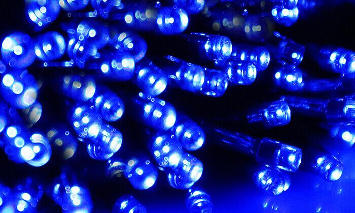 4 סט 7 שרשראות תאורה סולארית באורך 4.5 או 7 מטר