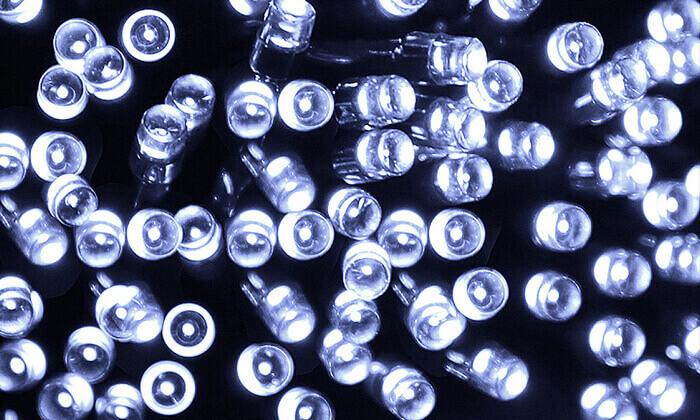 6 סט 7 שרשראות תאורה סולארית באורך 4.5 או 7 מטר
