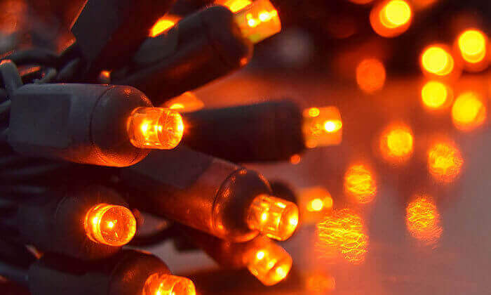 7 סט 7 שרשראות תאורה סולארית באורך 4.5 או 7 מטר
