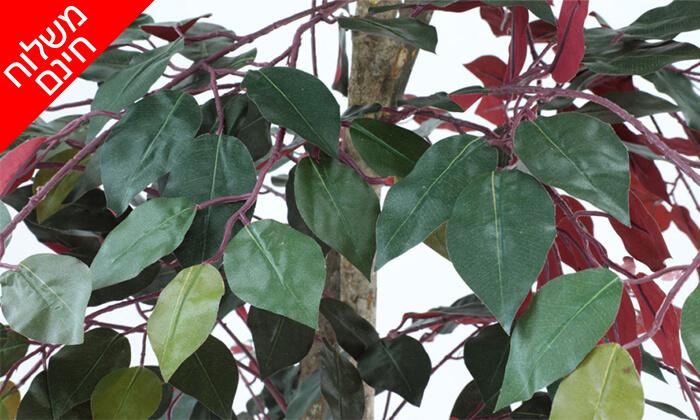 8 שמרת הזורע: עץ מלאכותי בעציץ - הובלה חינם