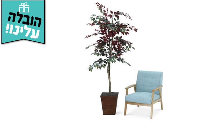 9 שמרת הזורע: עץ מלאכותי בעציץ - הובלה חינם