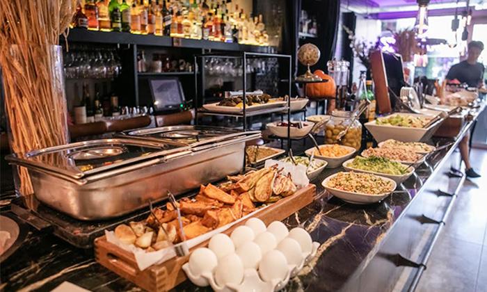 2 ארוחת בוקר בופה במלון אולטרה Ultra, הירקון תל אביב