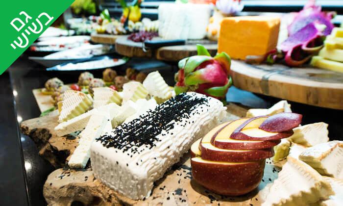 2 ארוחת בוקר בופה במלון הבוטיק אייל, ירושלים