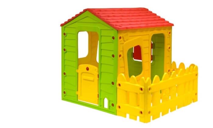 2 בית משחק לילדים