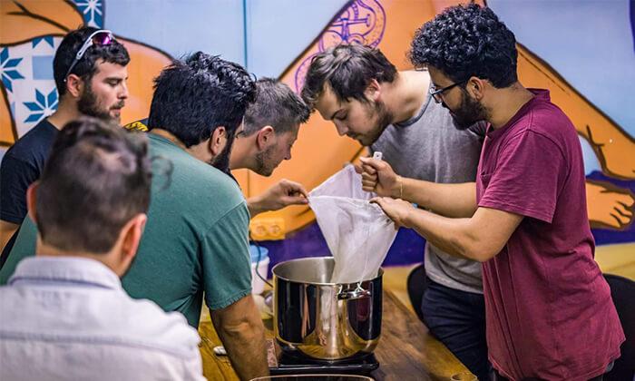 3 סדנת בירה ביתית עם 'בועה סדנאות' - תל אביב