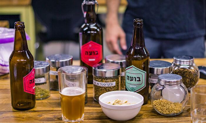 2 סדנת בירה ביתית עם 'בועה סדנאות' - תל אביב