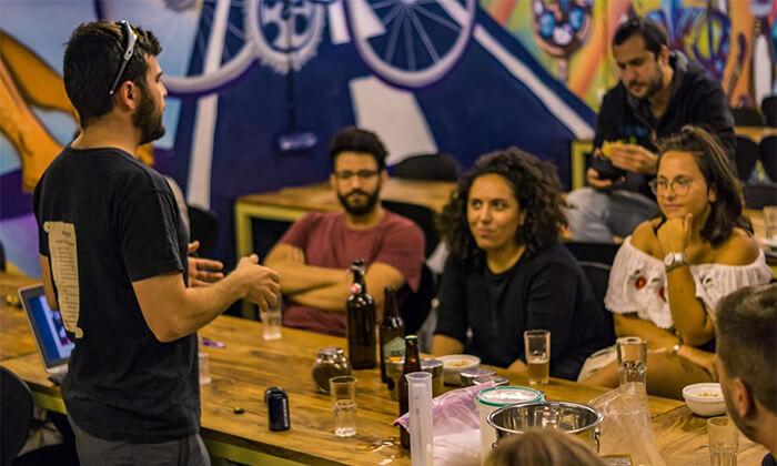 5 סדנת בירה ביתית עם 'בועה סדנאות' - תל אביב