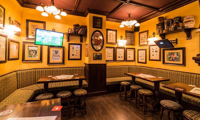 8 המבורגר, צ'יפס ובירה ב-Temple Bar כפר סבא