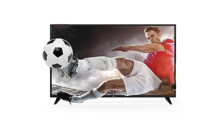 3 טלוויזיה חכמה 4K FUJICOM, מסך 55 אינץ'