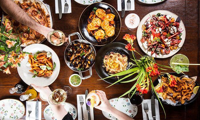 2 ארוחה זוגית בפרנצ'סקה ברובע, ראשון לציון