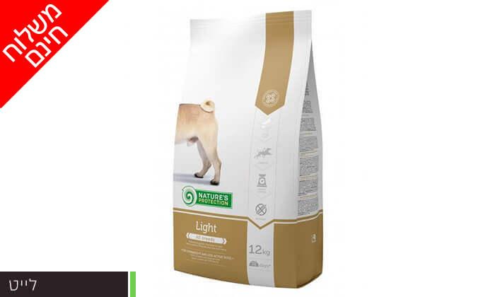 """6 שק מזון לכלבים 12 ק""""ג Nature's Protection - משלוח חינם"""