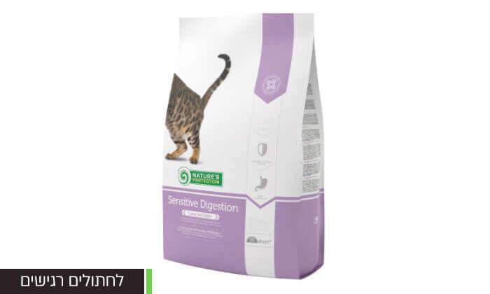 """4 שקמזון יבש לחתולים 2 ק""""ג"""