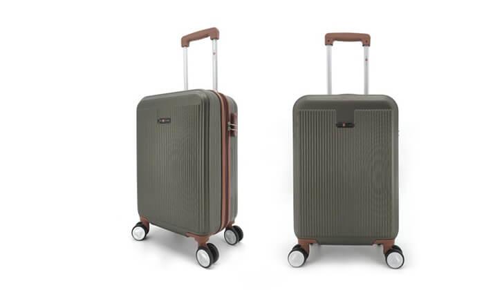 7 סט 3מזוודותקשיחות SWISS PLAZA