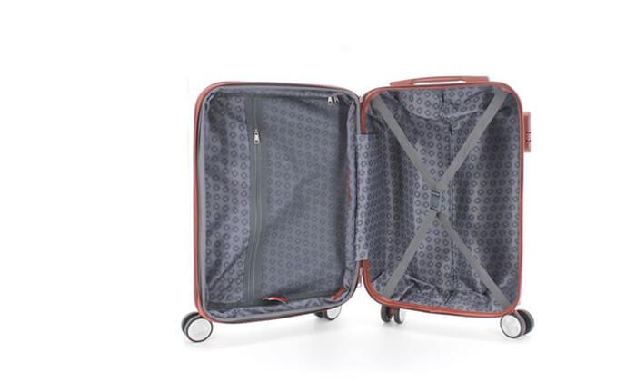 9 סט 3מזוודותקשיחות SWISS PLAZA
