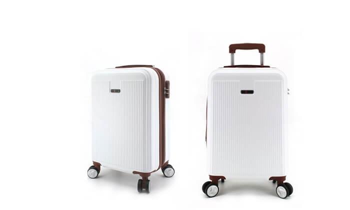 4 סט 3מזוודותקשיחות SWISS PLAZA