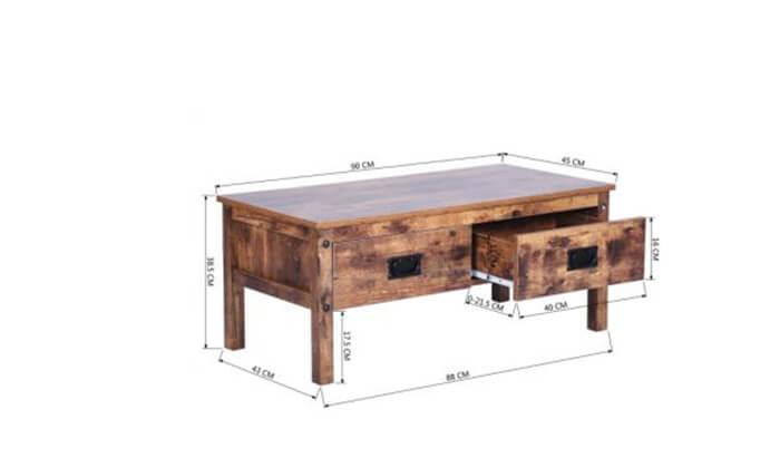 5 שולחן סלון עם מגירות