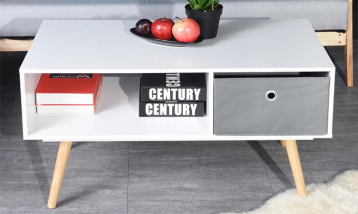 2 שולחן סלון מלבני