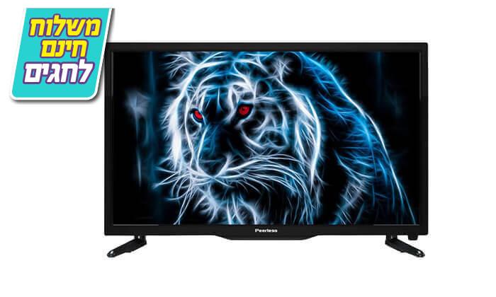 4 טלוויזיה חכמה Peerless, מסך 43 אינץ' - משלוח חינם