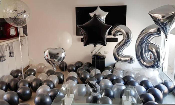 4 Mr.Balloon - עיצוב בלונים עד הבית