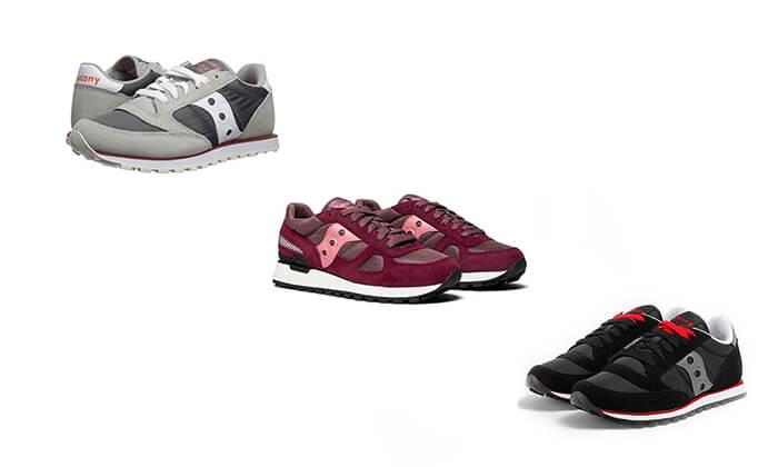 2 נעלי ספורט לנשים Saucony