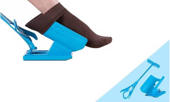 6 גורב גרביים SOCK SLIDER