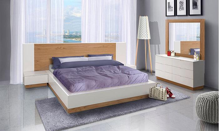 2 חדר שינה מעץ מלא LEONARDO