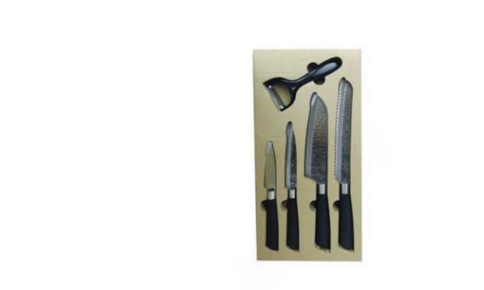 3 סט 4 סכינים וקולפון PLANERO
