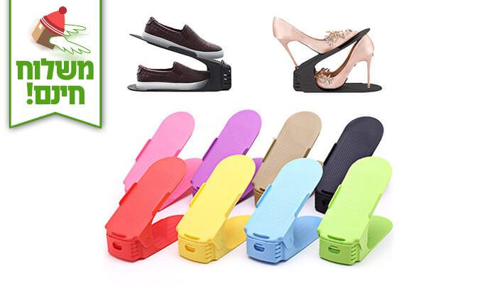 6 מתקן נעליים Homax - משלוח חינם