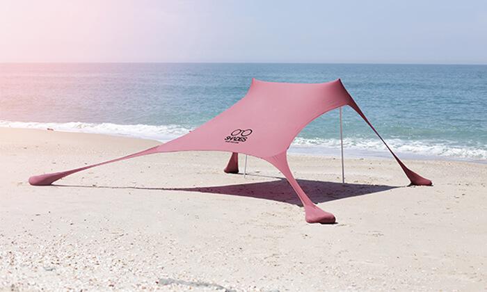 2 צילייה לים SHADES, מוצר עודפים - משלוח חינם