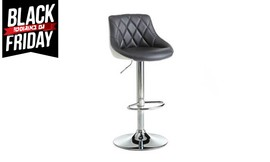 זוג כסאות בר מרופדים דגם אוסקר