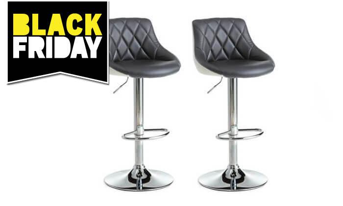 2 זוג כיסאות בר מרופדים Vitorio Divani