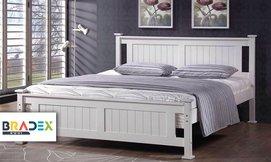 מיטה זוגית מעץ מלא דגם BALENO