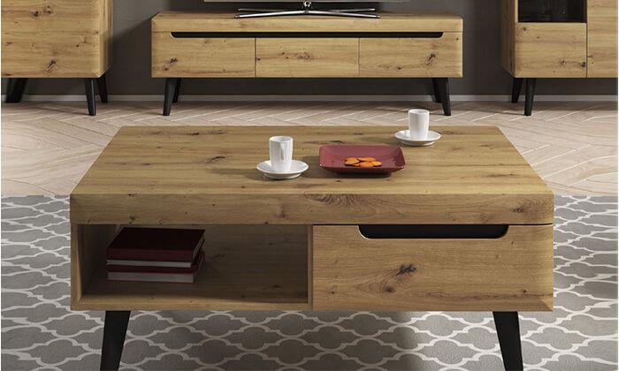 5 סט מזנון ושולחן הום דקור HOME DECOR
