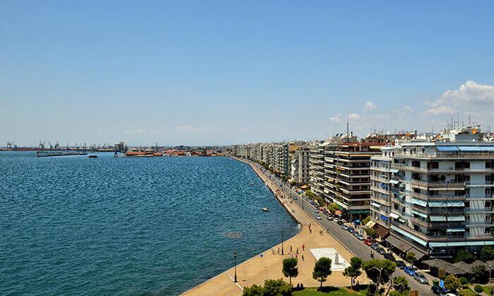 """3 סלוניקי - שמש, חופים, אווירה יוונית ומלון 5 כוכבים מומלץ, כולל סופ""""ש"""