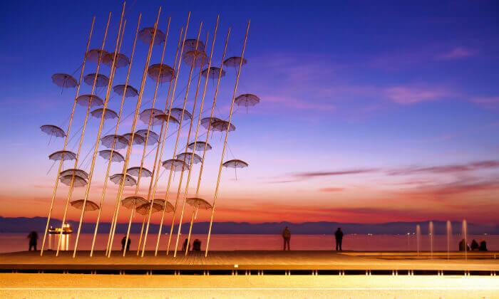 """9 סלוניקי - שמש, חופים, אווירה יוונית ומלון 5 כוכבים מומלץ, כולל סופ""""ש"""