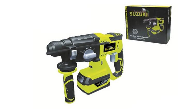 2 פטישון נטען Suzuki Energy