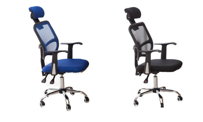 2 כיסא מנהלים אורתופדי BRADEX