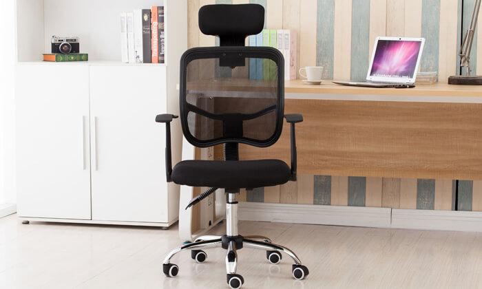 4 כיסא מנהלים אורתופדי BRADEX