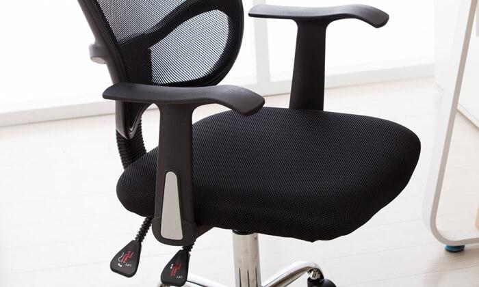 5 כיסא מנהלים אורתופדי BRADEX