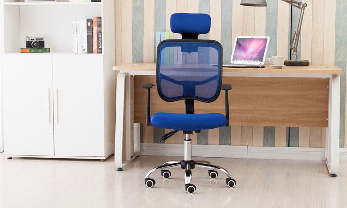 3 כיסא מנהלים אורתופדי BRADEX