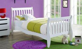 מיטת ילדים מעץ מלא BRADEX