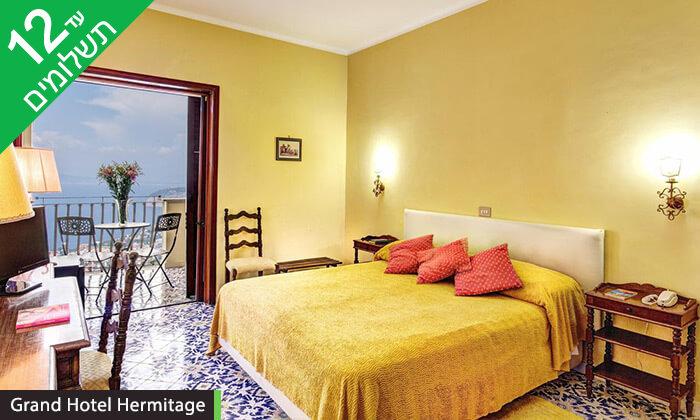 6 סורנטו, נאפולי והאזור - חופשה בדרום איטליה במלון המשקיף לנוף מהמם